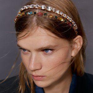 Zara Colorful Bejeweled Headband